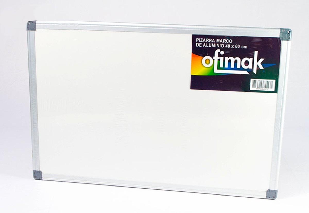 Pizarra Acrílica Marco Metálico 40 X 60 Cm | Ofimak